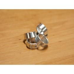 15 mm hliníkový