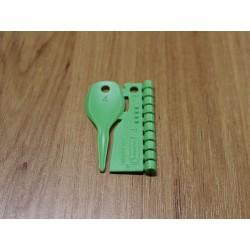 4 mm plastový (balení 10 ks)